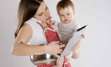 Watch us fly! Yes, even busy mums can improve their career prospects